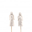 wholesale Figures & Sculptures: Ceramic angels Domiel for plugging, ...